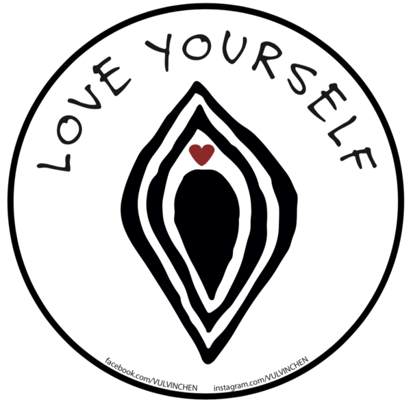VULViNCHEN Sticker | LOVE YOURSELF | 10 Stück