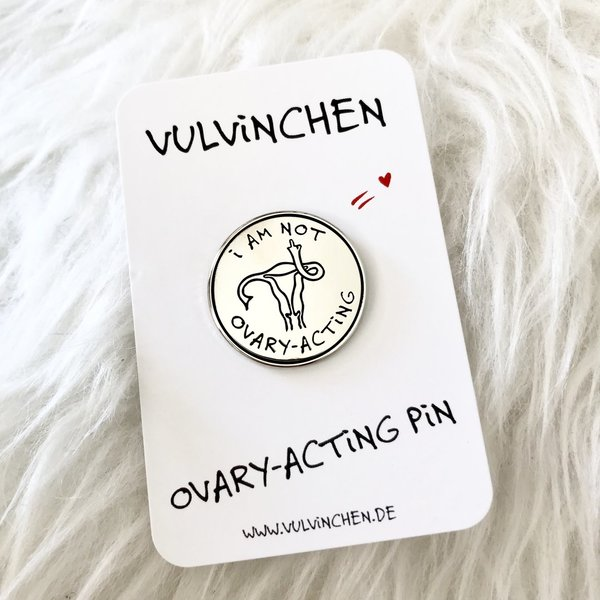 VULViNCHEN | OVARY-ACTiNG PiN | silber